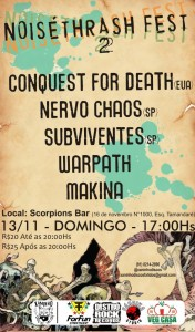 Noisethrash Fest 2 Belem, Brasil