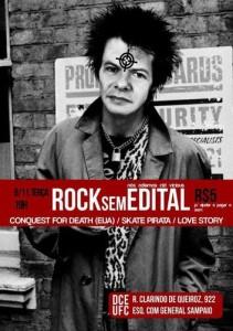 Rock Sem Edital, Fortaleza, Brasil