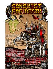 South Africa / Indian Ocean tour poster by Glenno